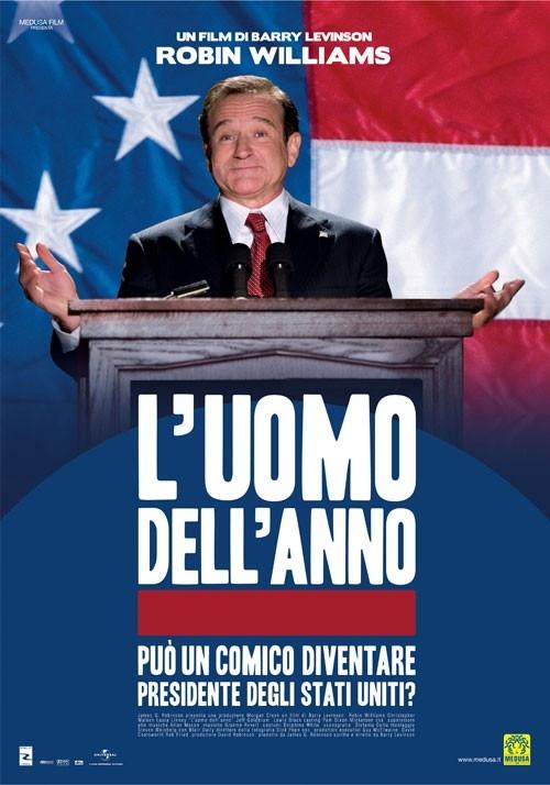 La locandina italiana di L'uomo dell'anno