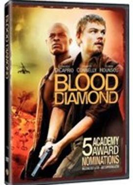 La copertina DVD di Blood Diamond
