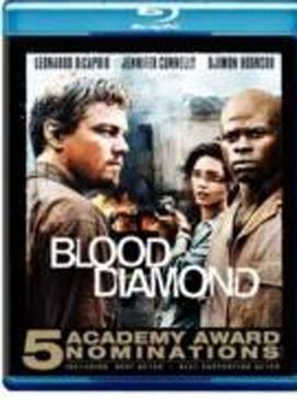 La copertina DVD di Blood Diamond (Blu-Ray)