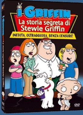 La copertina DVD di La storia segreta di Stewie Griffin