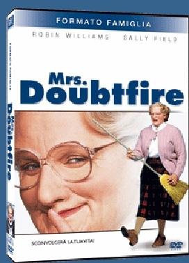 La copertina DVD di Mrs Doubtfire - Family edition