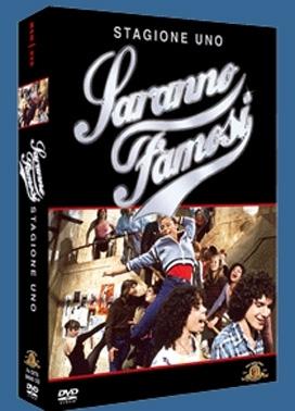 La copertina DVD di Saranno famosi - Stagione uno
