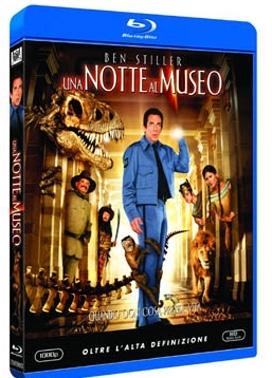 La copertina DVD di Una notte al museo (Blu-Ray)