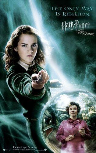 Poster promozionale per Harry Potter e l'Ordine della Fenice con Emma Watson