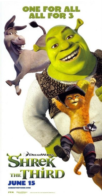Poster promo per Shrek the Third