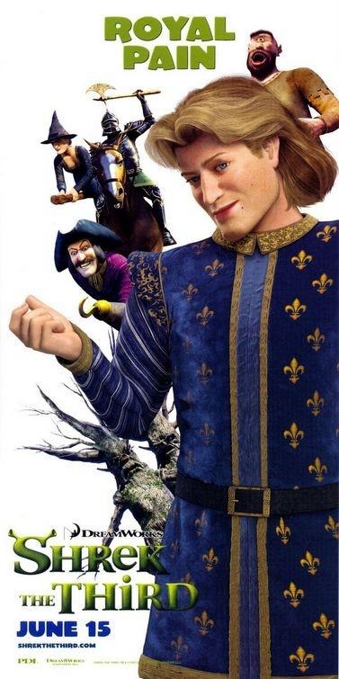 Poster promozionale per Shrek the Third