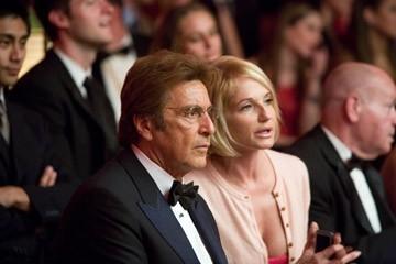 Ellen Barkin e Al Pacino in una scena del film Ocean's Thirteen