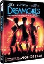 La copertina DVD di Dreamgirls