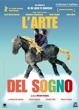 La copertina DVD di L'arte del sogno - Collector's Edition