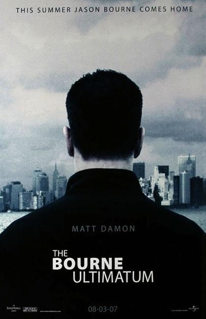 La locandina di The Bourne Ultimatum