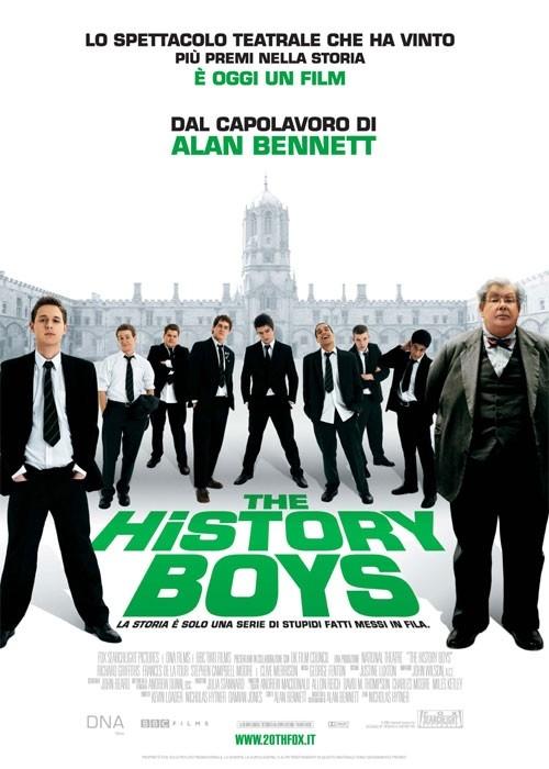 La locandina italiana di The History Boys