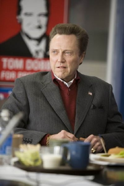 Christopher Walken in una scena de L'uomo dell'anno
