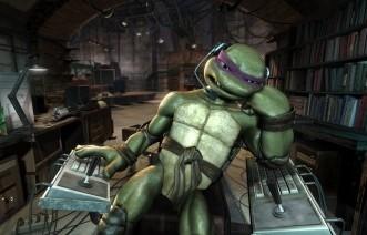 Una scena di TMNT, ispirato alla serie delle tartarughe ninja