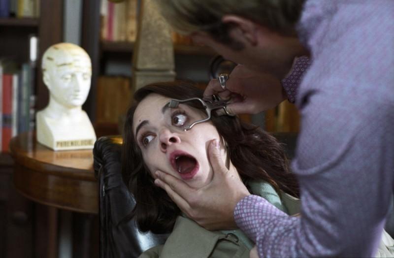 Asia Argento in una scena del film La terza Madre, diretto da suo padre Dario