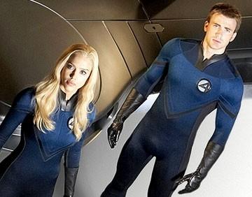 Chris Evans e Jessica Alba sono i protagonisti de I fantastici 4 e Silver Surfer