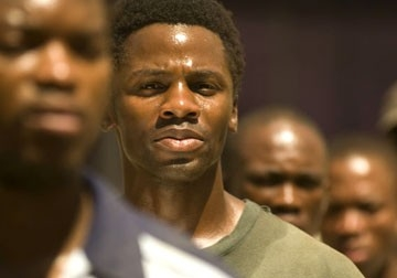 Derek Luke in una scena del film Catch a Fire