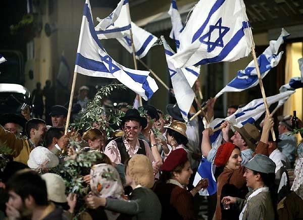 Una scena del film O Jerusalem