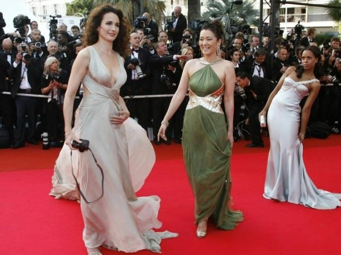 Andie MacDowell, Gong Li e Kerry Washington elegantissime sul red carpet di Cannes 2007
