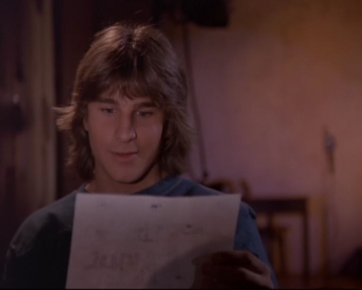 Carlo Imperato in una scena del telefilm 'Saranno Famosi'