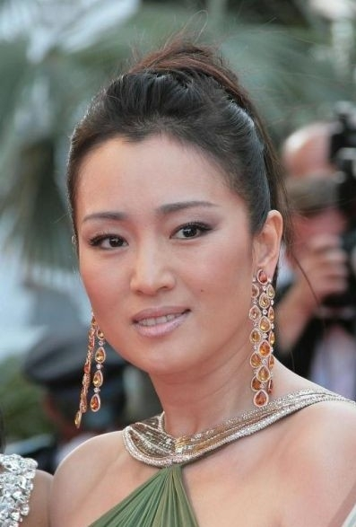 Gong Li sul red carpet di cannes 2007