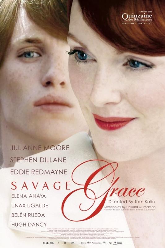 La locandina di Savage Grace