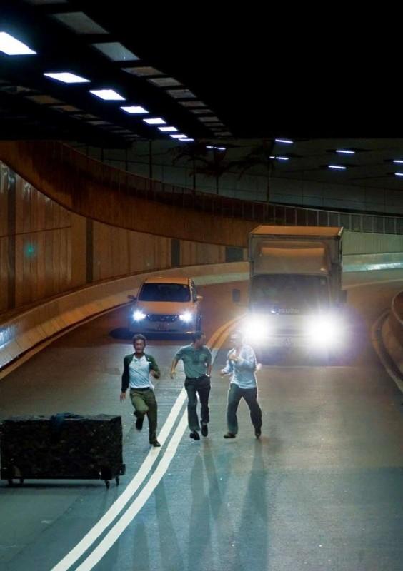 Una sequenza del film Triangle