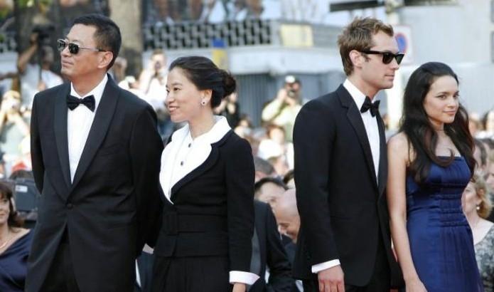 Wong Kar-Wai e consorte con Jude Law e Norah Jones a Cannes 2007