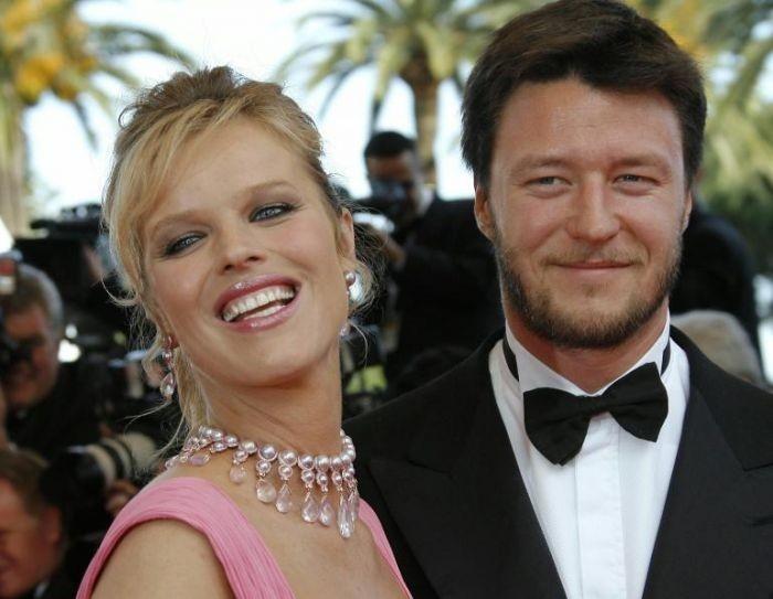 Cannes 2007: Eva Herzigova (in dolce attesa) e consorte