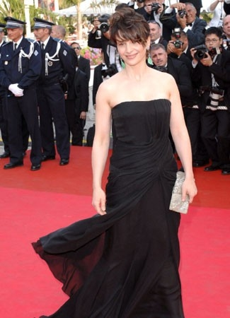 Cannes 2007: Juliette Binoche sul red carpet