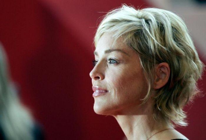 Cannes 2007: un primo piano di Sharon Stone