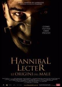 La copertina DVD di Hannibal Lecter - Le origini del male - Disco Singolo