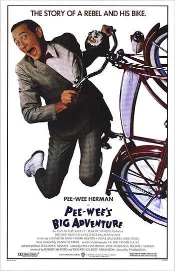 La locandina di Pee-wee's Big Adventure