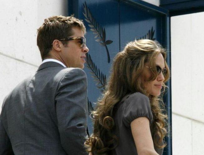 Cannes 2007: Angelina Jolie e Brad Pitt