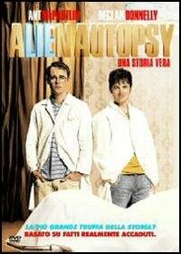 La copertina DVD di Alien autopsy - Una storia vera