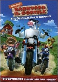 La copertina DVD di Barnyard - Il Cortile