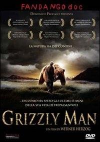La copertina DVD di Grizzly Man