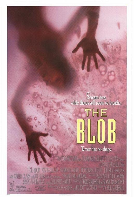 La locandina di Blob, il fluido che uccide