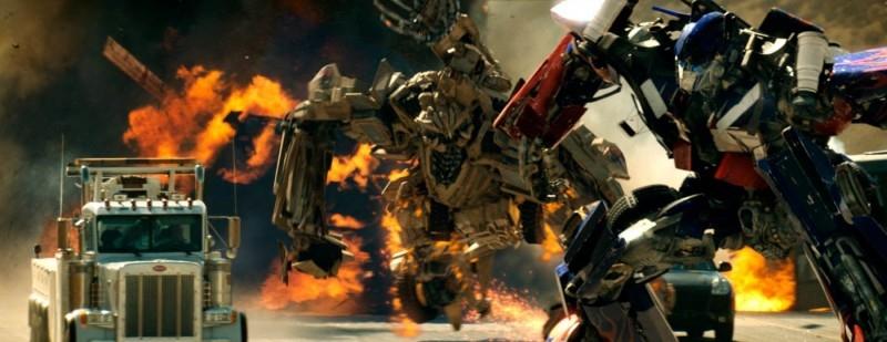 scena del film Transformers
