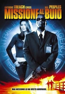 La copertina DVD di Missione al buio