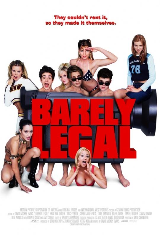La locandina di Barely Legal - Doposcuola a luci rosse