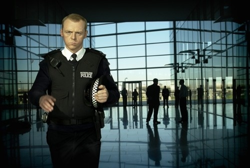 Simon Pegg nel divertente action Hot Fuzz