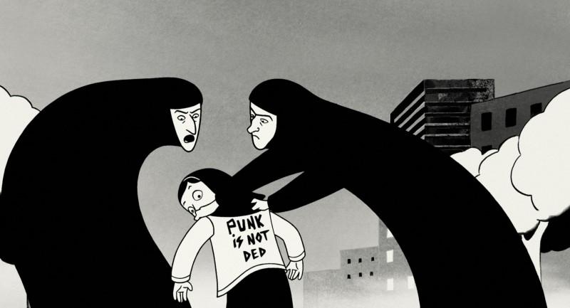 Un'immagine del bel film 'Persepolis'