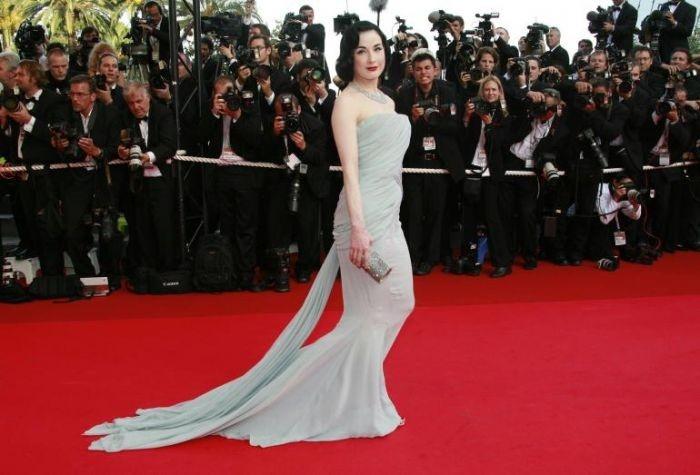 Cannes 2007: Dita Von Teese
