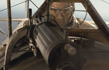 James Franco in una scena del film Giovani Aquile - Flyboys