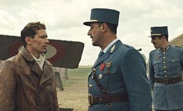 James Franco, Jean Reno e Augustin Legrand in una scena del film Giovani Aquile