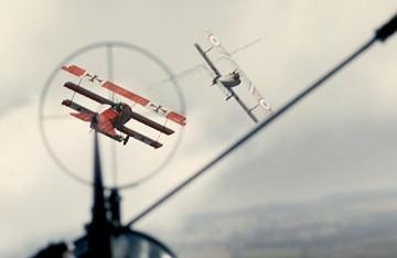 Una scena del film Giovani Aquile - Flyboys