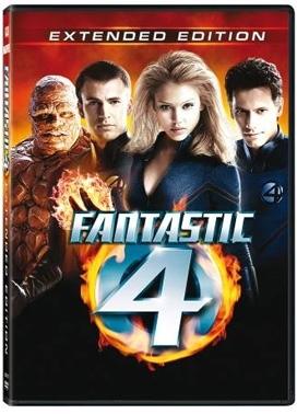 La copertina DVD di I fantastici quattro - Extended edition