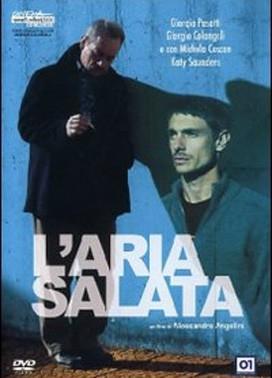 La copertina DVD di L'aria salata