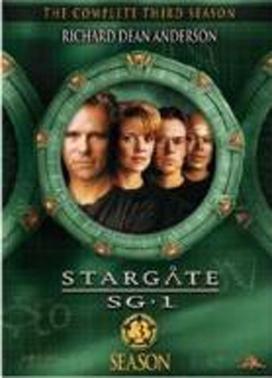 La copertina DVD di Stargate SG-1 - stagione 3