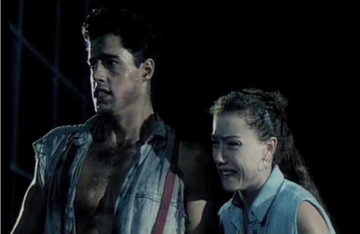 Nancy Brilli in una scena di Demoni 2